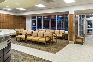 Hospital Remodeled With Infection Prevention Furniture