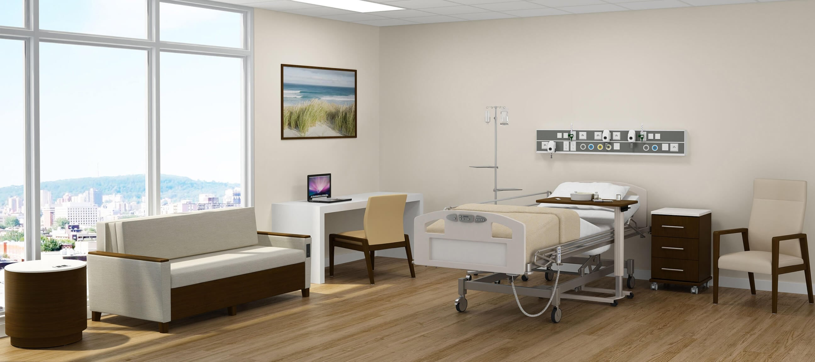 GetWell Patient Room