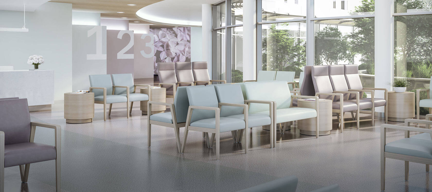 A Breath of Fresh Air: Hospital lobby