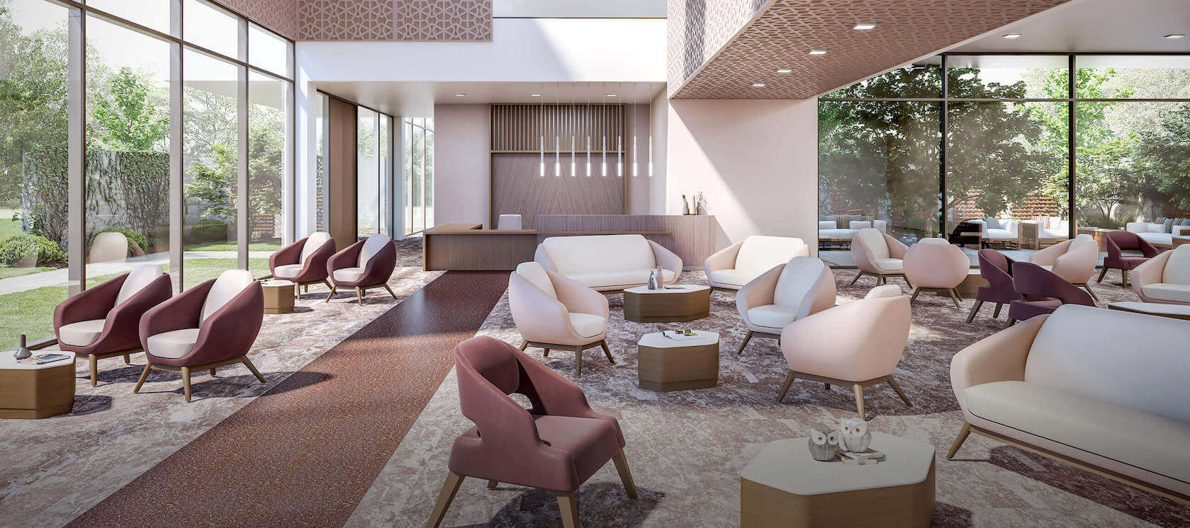 Inviting Spaces lobby