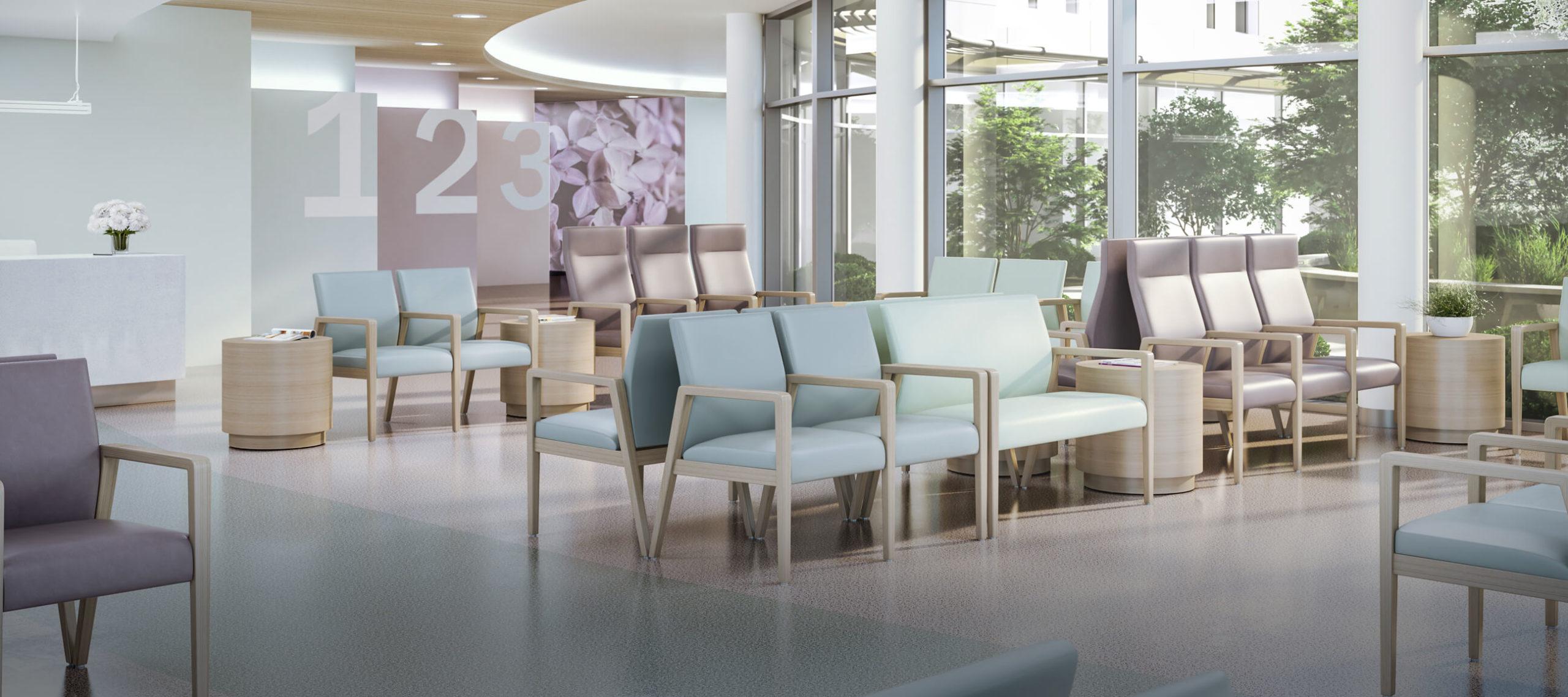 A Breath of Fresh Air: Hospital lobby