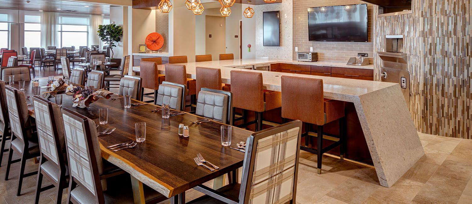 Stylish and comfortable furniture expertly-designed to meet the unique needs of senior living communities.