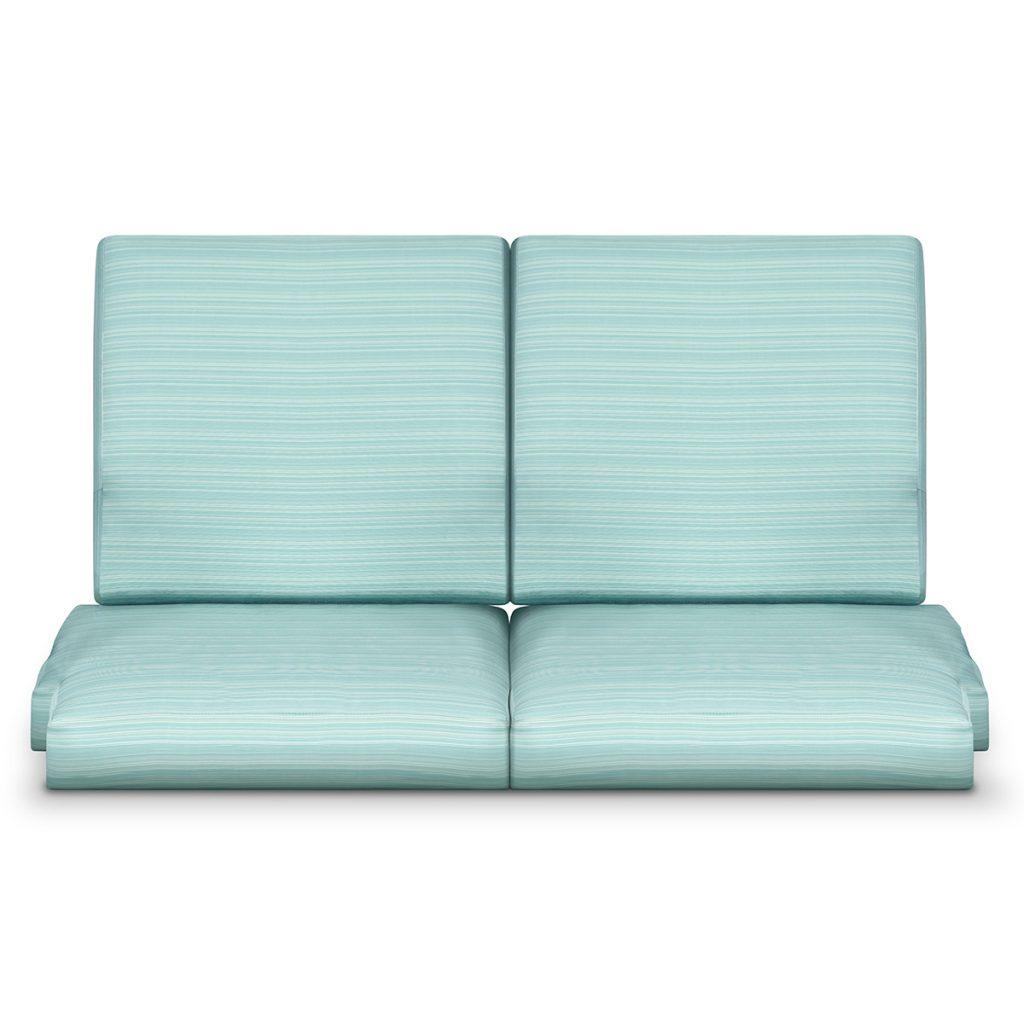 Arezzo Love Seat / Back Cushion - Kwalu