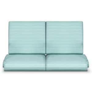 Kwalu product: Arezzo Glider Love Seat / Back Cushion
