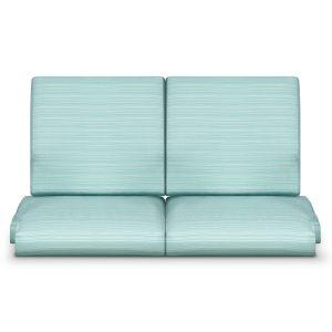 Kwalu product: Arezzo Glider Love Seat / Back Cushion