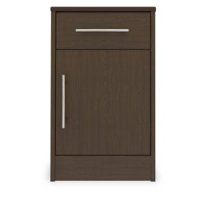Kwalu product: Auburn Bedside Cabinet, 1 Drawer, 1 Door