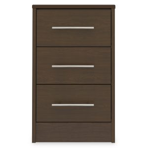 Kwalu product: Auburn Bedside Cabinet, 3 Drawers