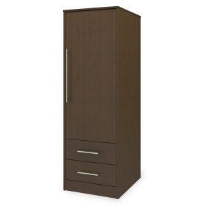 Kwalu product: Auburn Single Wardrobe, 2 Drawers, 1 Door
