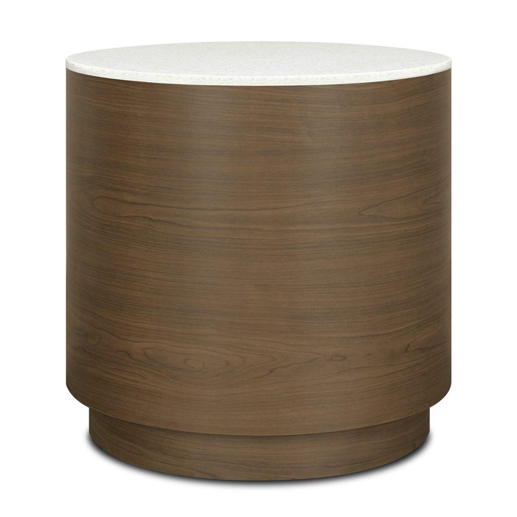 Brianza Drum End Table - Kwalu