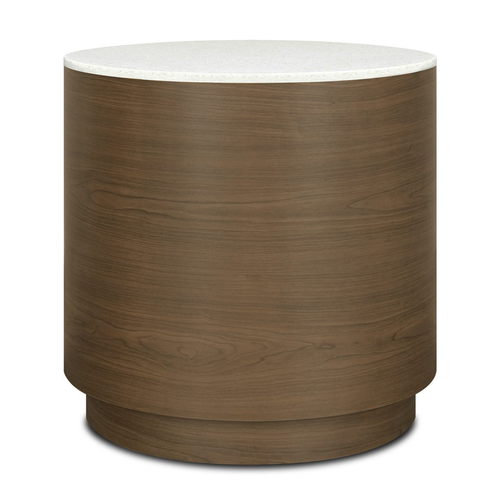 Brianza Drum End Table - Kwalu
