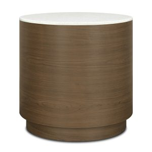 Kwalu product: Brianza Drum End Table