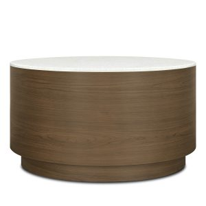 Kwalu product: Brianza Drum Round Coffee Table