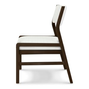 Kwalu product: Caterina Guest – Upholstered Back Armless