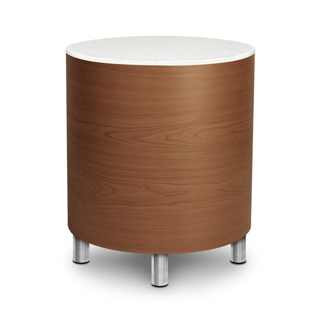 Tamburo Drum End Table - Kwalu
