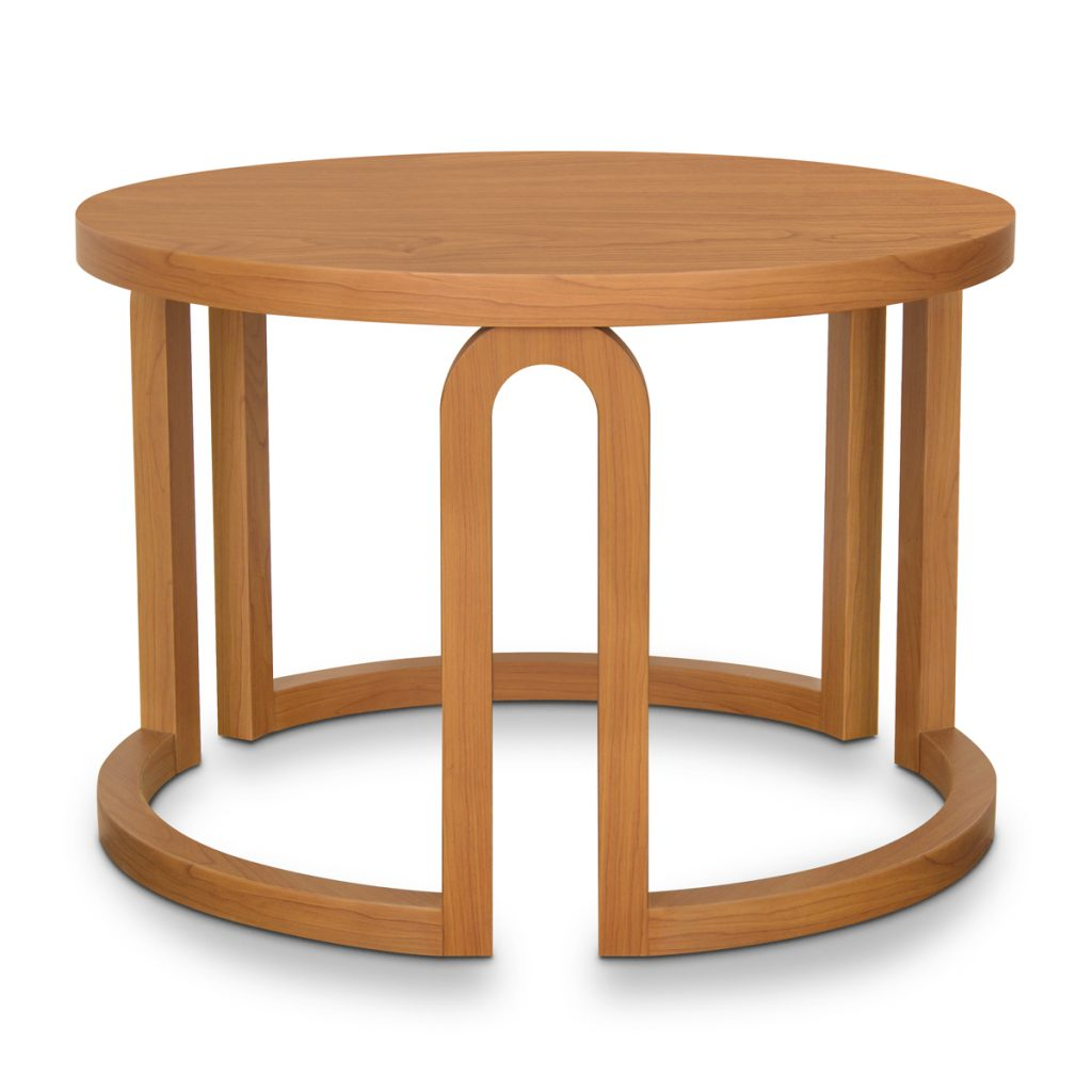 Roletto Round Coffee Table - Kwalu