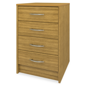 Kwalu product: Atlanta Bedside Cabinet, 4 Drawers