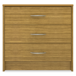 Kwalu product: Atlanta Chest Wide, 3 Drawers
