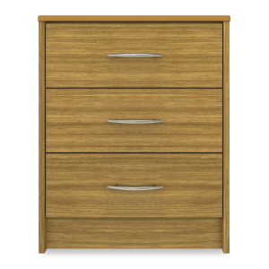 Kwalu product: Atlanta Chest, 3 Drawers