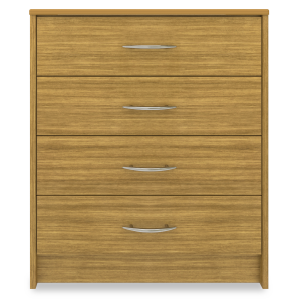 Kwalu product: Atlanta Chest Wide, 4 Drawers