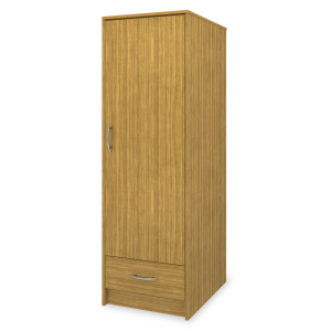 Kwalu product: Atlanta Single Wardrobe, 1 Drawer, 1 Door