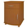 Camelot Bedside Cabinet, 1 Drawer, 1 Door - Kwalu