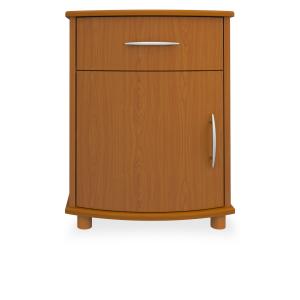 Kwalu product: Camelot Bedside Cabinet, 1 Drawer, 1 Door