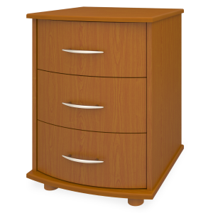 Kwalu product: Camelot Bedside Cabinet, 3 Drawers