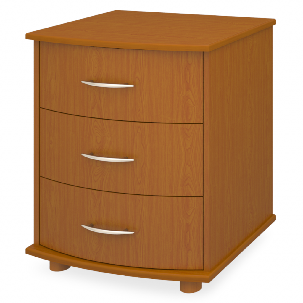 Camelot Chest, 3 Drawers - Kwalu