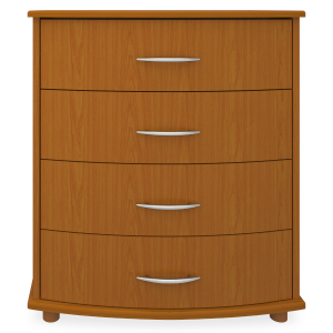 Kwalu product: Camelot Chest Wide, 4 Drawers