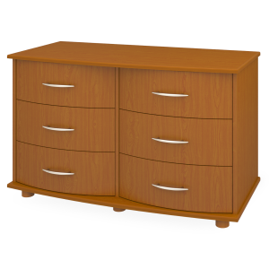 Kwalu product: Camelot Dresser, 6 Drawers