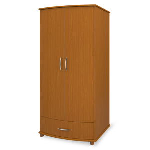 Kwalu product: Camelot Double Wardrobe, 1 Drawer, 2 Doors