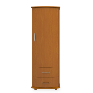 Kwalu product: Camelot Single Wardrobe, 2 Drawers, 1 Door