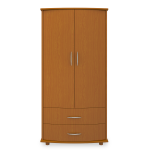Kwalu product: Camelot Double Wardrobe, 2 Drawers, 2 Doors
