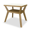 Carrara II End Table - Kwalu