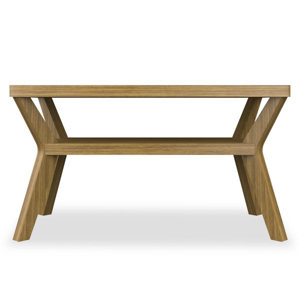 Carrara II Rectangular Coffee Table - Kwalu