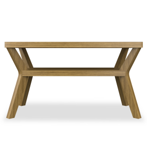 Kwalu product: Carrara II Rectangular Coffee Table