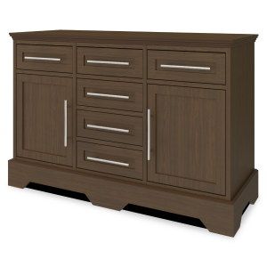 "Kwalu product: Dorchester Buffet Station –  48""W"