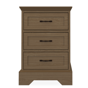 Kwalu product: Dorchester Bedside Cabinet, 3 Drawers