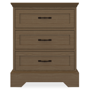 Kwalu product: Dorchester Chest, 3 Drawers