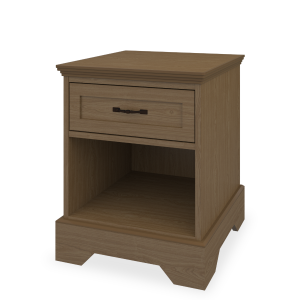 Kwalu product: Dorchester Nightstand, 1 Drawer