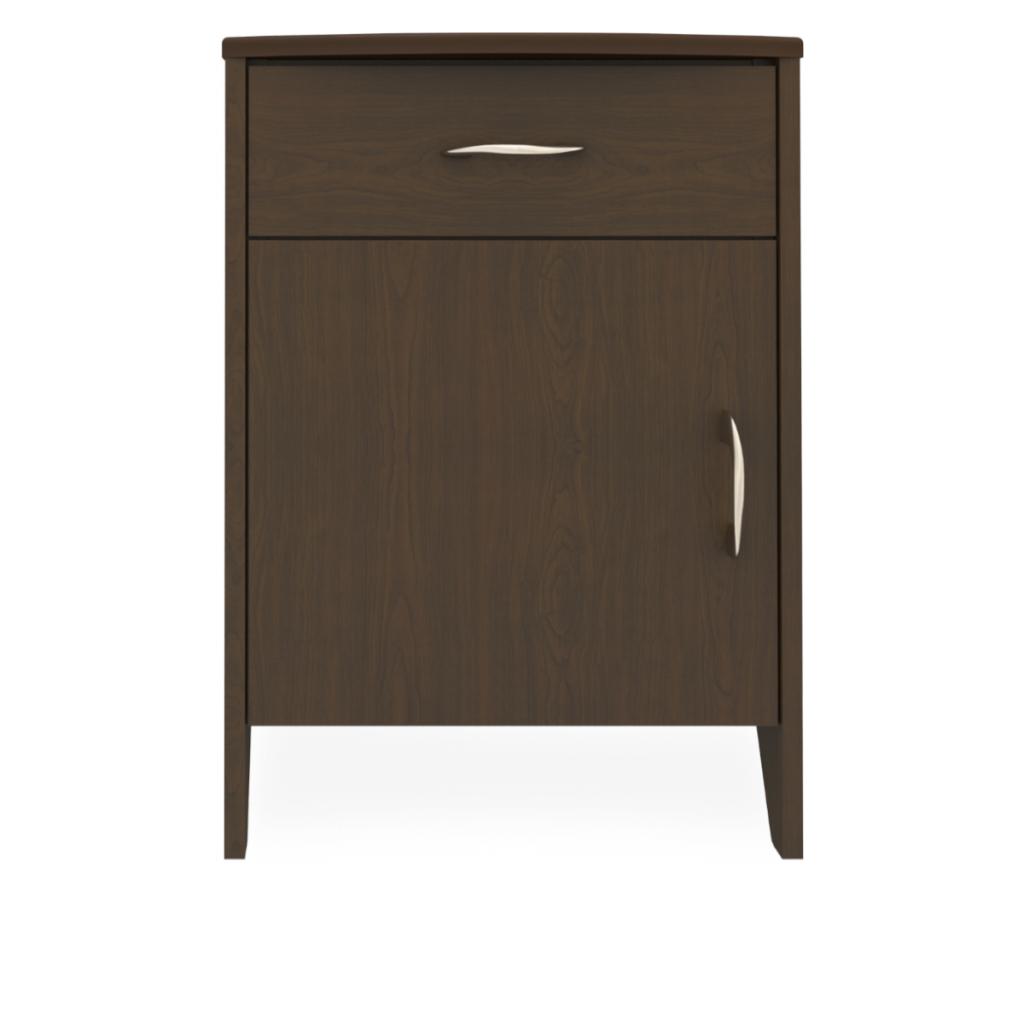 Essex Bedside Cabinet, 1 Drawer, 1 Door - Kwalu
