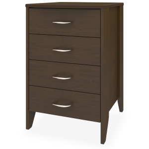Kwalu product: Essex Bedside Cabinet, 4 Drawers
