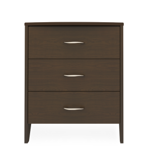 Kwalu product: Essex Chest, 3 Drawers