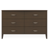 Essex Dresser, 6 Drawers - Kwalu
