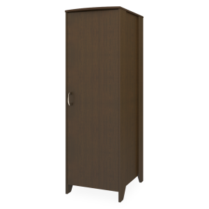 Kwalu product: Essex Single Wardrobe, No Drawers, 1 Door