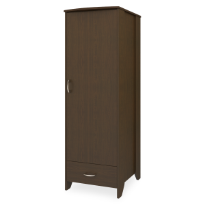 Kwalu product: Essex Single Wardrobe, 1 Drawer, 1 Door