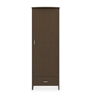 Kwalu product: Essex Single Wardrobe, 1 Drawer, 1 Door
