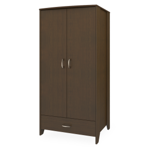 Kwalu product: Essex Double Wardrobe, 1 Drawer, 2 Doors