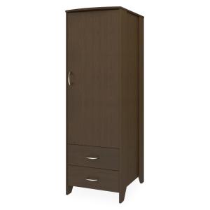 Kwalu product: Essex Single Wardrobe, 2 Drawers, 1 Door