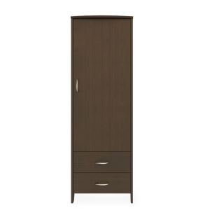 Kwalu product: Essex Single Wardrobe, 2 Drawers, 1 Door